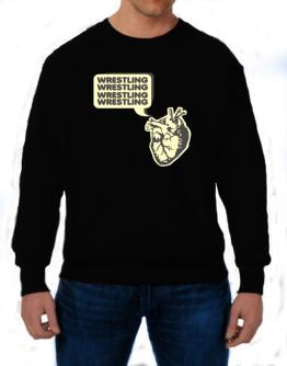 Wrestling Heart Sweatshirt