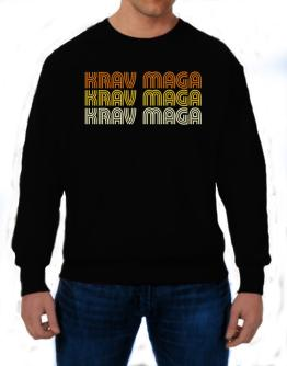 Krav Maga Retro Color Sweatshirt