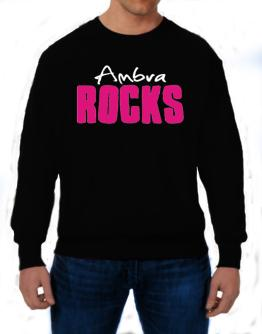 Ambra Rocks Sweatshirt