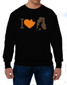 I love Australian Shepherds Sweatshirt