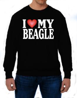 I Love Beagle Sweatshirt