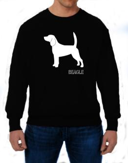 Beagle Stencil / Chees Sweatshirt