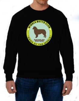 Australian Shepherd - Wiggle Butts Club Sweatshirt