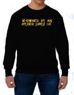 Owned By An Applehead Siamese Sweatshirt