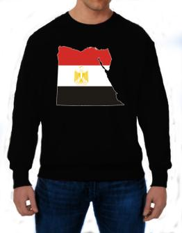 Egypt - Country Map Color Simple Sweatshirt