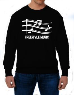 Freestyle Music - Musical Notes Sweatshirt