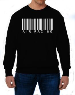 Air Racing Barcode / Bar Code Sweatshirt