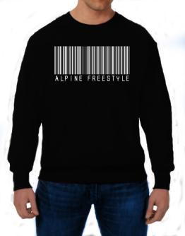 Alpine Freestyle Barcode / Bar Code Sweatshirt