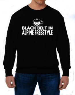 Black Belt In Alpine Freestyle Sweatshirt
