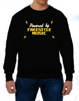 Powered By Freestyle Music Sweatshirt