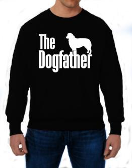 The dogfather Australian Shepherd Sweatshirt