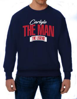 Carlyle the man the legend 2 Sweatshirt
