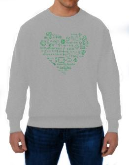 I heart math Sweatshirt