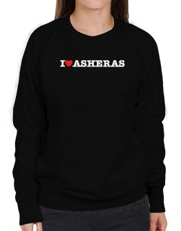 I Love Asheras Sweatshirt-Womens