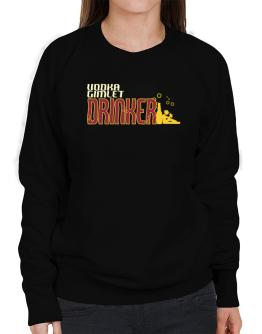 Vodka Gimlet Drinker Sweatshirt-Womens
