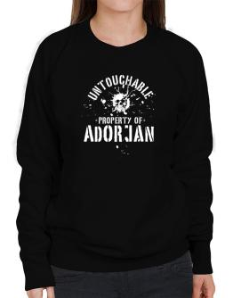 Untouchable : Property Of Adorjan Sweatshirt-Womens