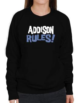 Addison Rules! Sweatshirt-Womens