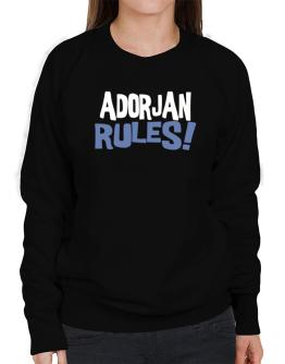 Adorjan Rules! Sweatshirt-Womens