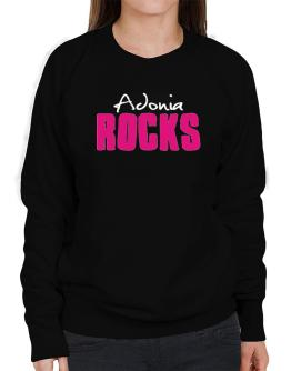 Adonia Rocks Sweatshirt-Womens