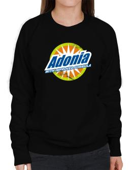 Adonia - With Improved Formula Sweatshirt-Womens