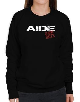 Aide - Off Duty Sweatshirt-Womens