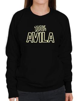 100% Avila Sweatshirt-Womens