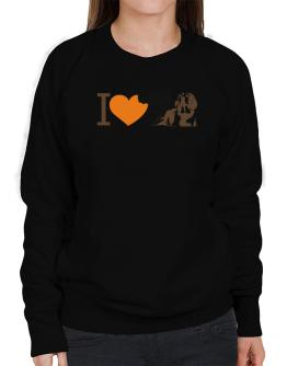 I love Beagles Sweatshirt-Womens