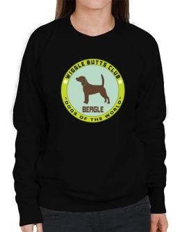 Beagle - Wiggle Butts Club Sweatshirt-Womens