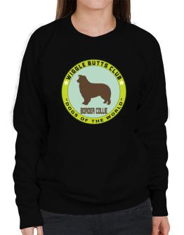 Border Collie - Wiggle Butts Club Sweatshirt-Womens
