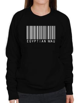 Egyptian Mau Barcode Sweatshirt-Womens