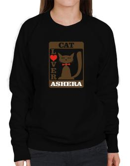 Cat Lover - Ashera Sweatshirt-Womens