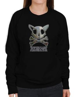 The Greatnes Of A Nation - California Spangled Cats Sweatshirt-Womens