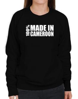 100% Made In Cameroon Sweatshirt-Womens