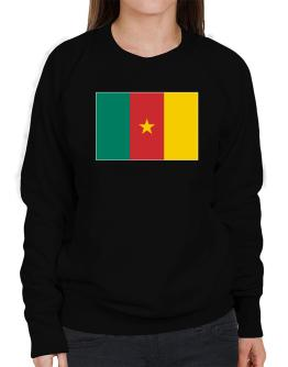 Cameroon Flag Sweatshirt-Womens
