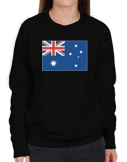 Australia Flag Sweatshirt-Womens