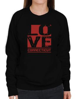 Love Connecticut Sweatshirt-Womens