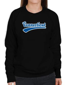 Retro Connecticut Sweatshirt-Womens