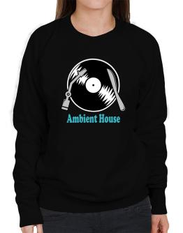 Ambient House - Lp Sweatshirt-Womens