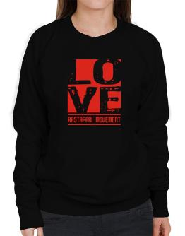 Love Rastafari Movement Sweatshirt-Womens