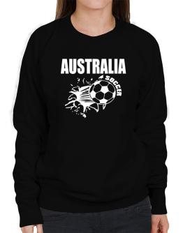 All Soccer Australia Sweatshirt-Womens