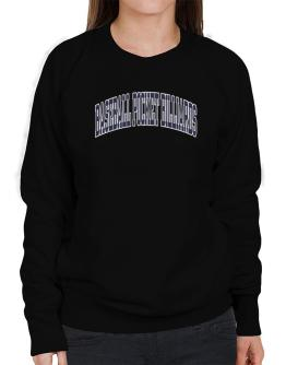 Baseball Pocket Billiards Athletic Dept Sweatshirt-Womens