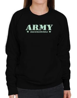 Army Jerusalem And Middle Eastern Episcopalian Sweatshirt-Womens
