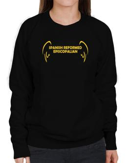 Spanish Reformed Episcopalian - Wings Sweatshirt-Womens