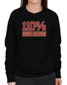 110% Sudanese Episcopalian Sweatshirt-Womens