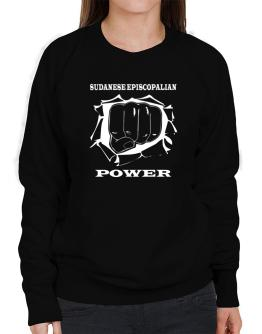 Sudanese Episcopalian Power Sweatshirt-Womens