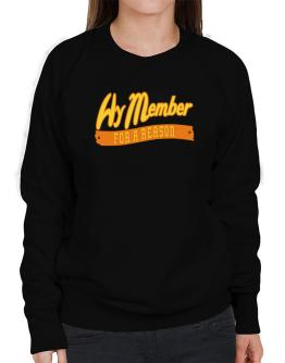Hy Member For A Reason Sweatshirt-Womens