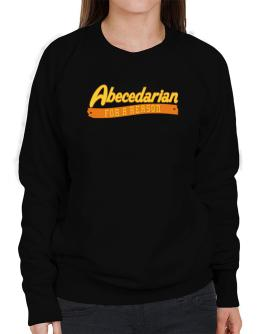 Abecedarian For A Reason Sweatshirt-Womens