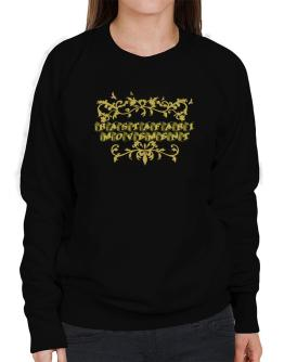 Rastafari Movement Sweatshirt-Womens