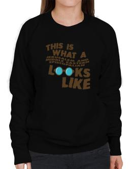 This Is What A Jerusalem And Middle Eastern Episcopalian Looks Like Sweatshirt-Womens