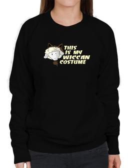 This Is My Wiccan Costume Sweatshirt-Womens